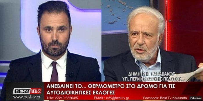 Δημήτρης Σαραβάκος Συνέντευξη BEST TV