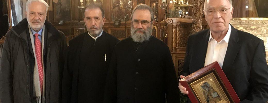 Συνάντηση Λεβέντη, Σαραβάκου στο Άργος με τον πρόεδρο και τον ταμία των Ιερέων Ελλάδος