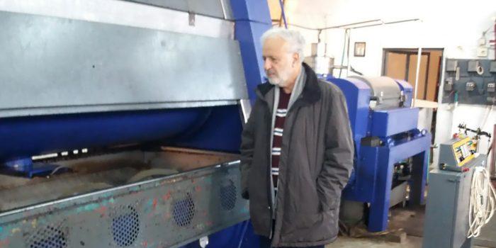 Δημήτρης Σαραβάκος σε ελαιοτριβεία της Περιφέρειας Πελοποννήσου