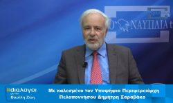 Συνέντευξη Σαραβάκου στο Argonafplia TV